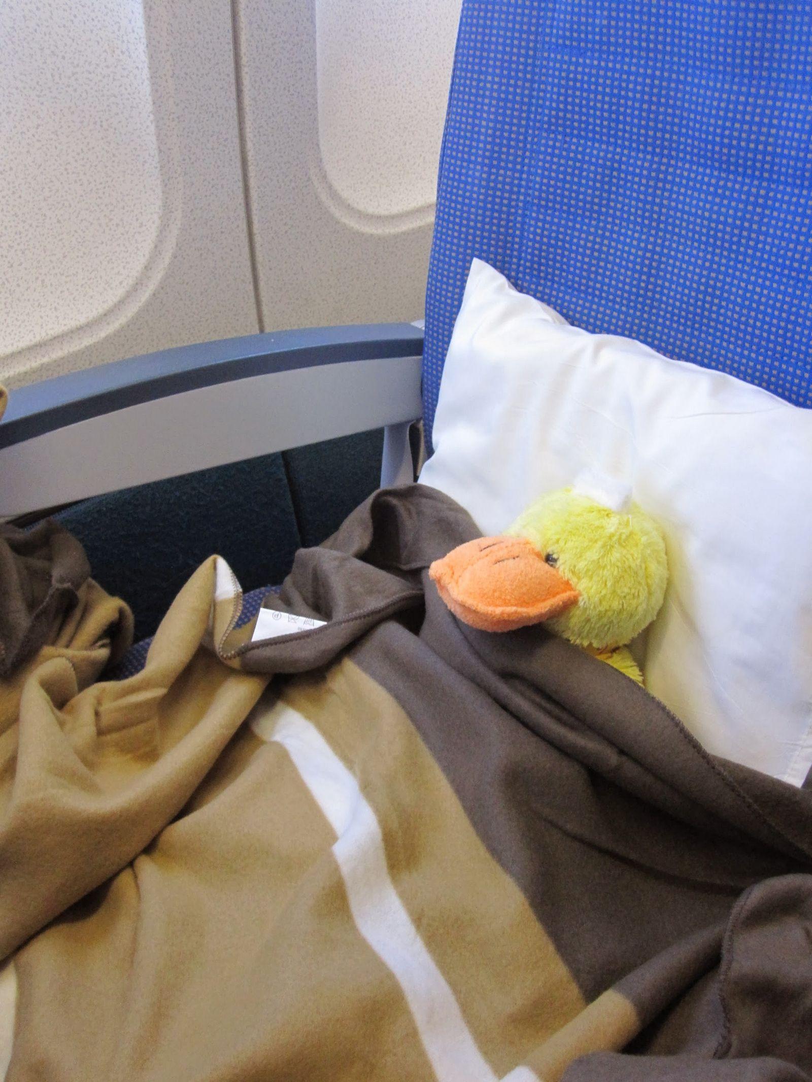Algunos tienen más suerte intentando dormir a bordo