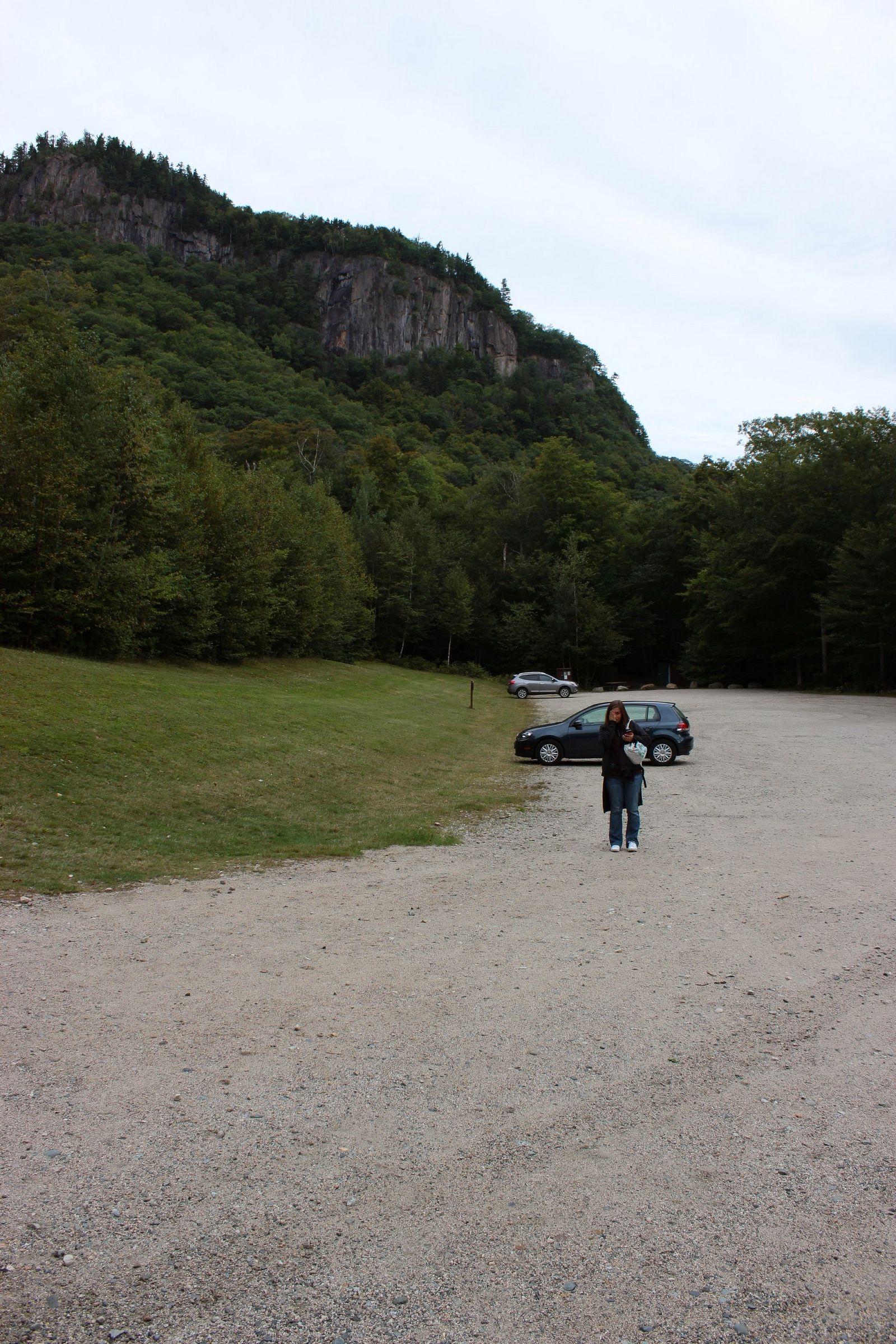Solo los más madrugadores ven así el aparcamiento de Arethusa