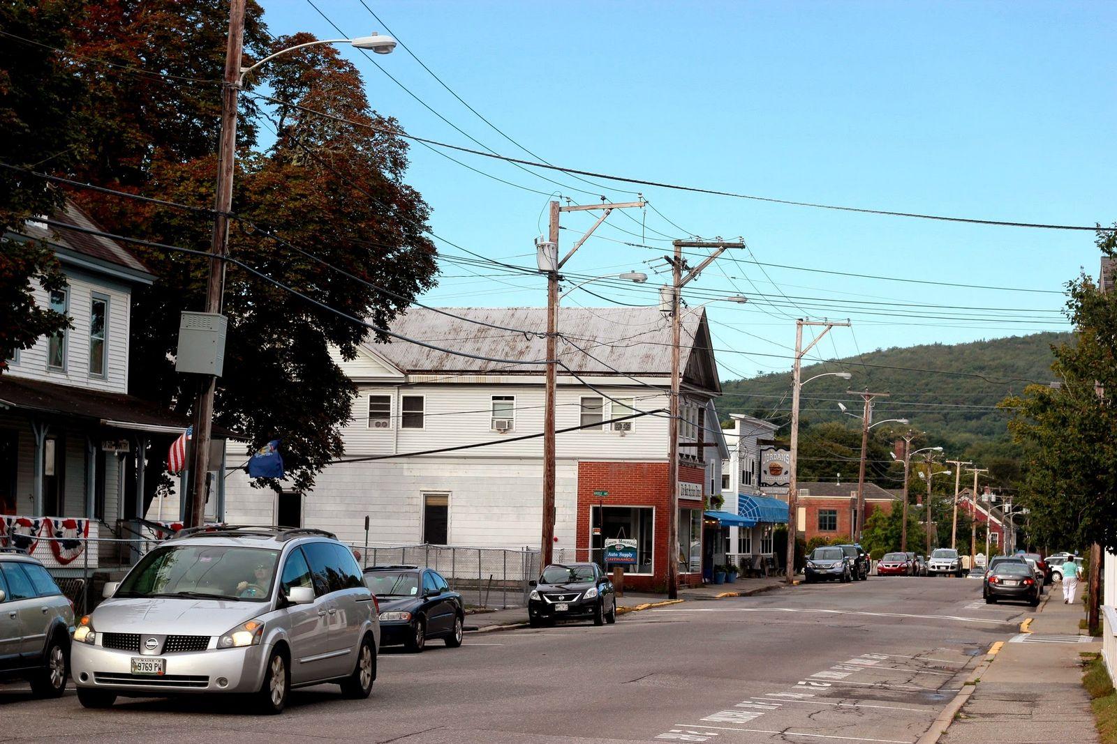 Más calles de Bar Harbor