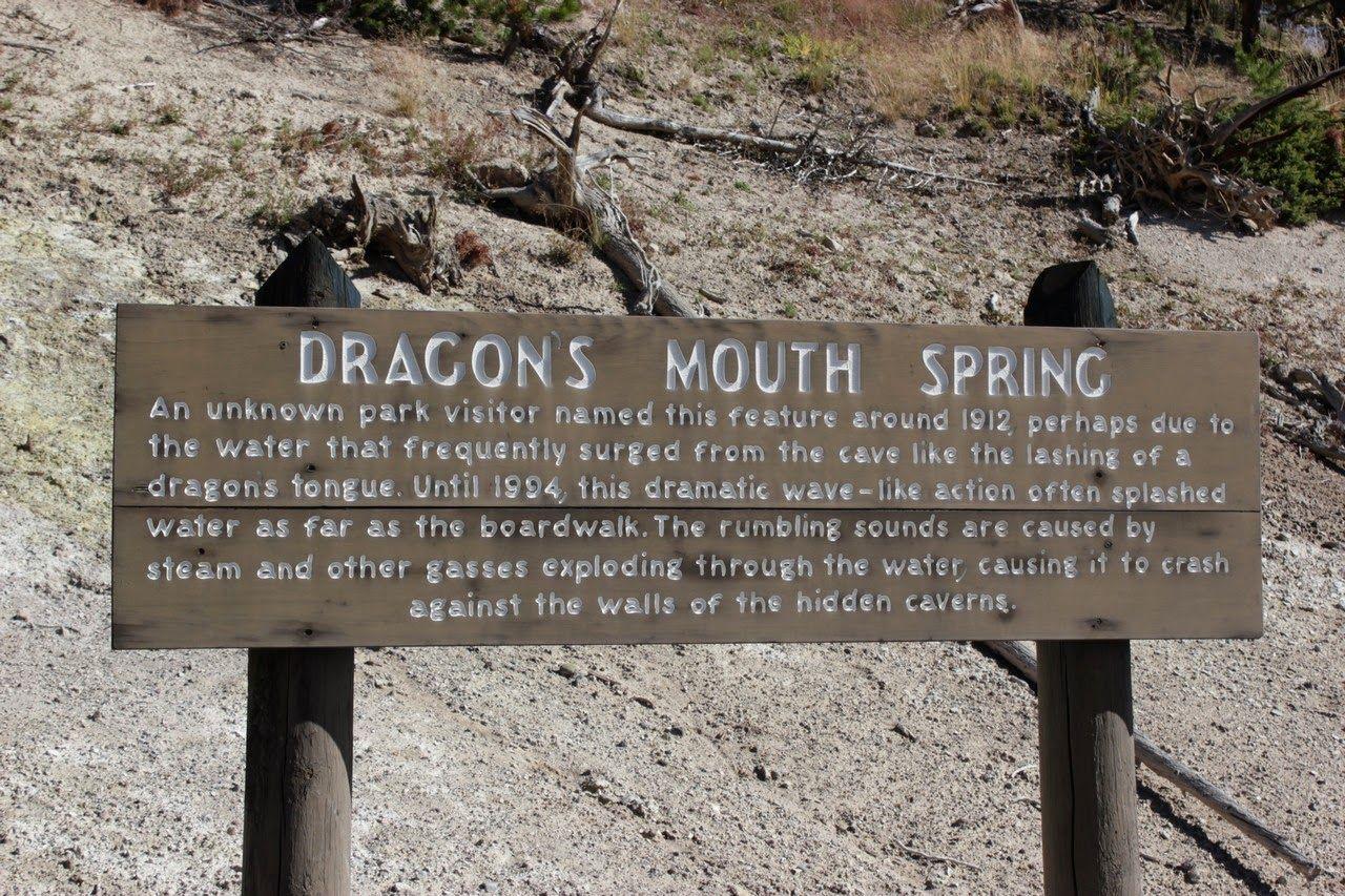 Llegando a la boca del dragón