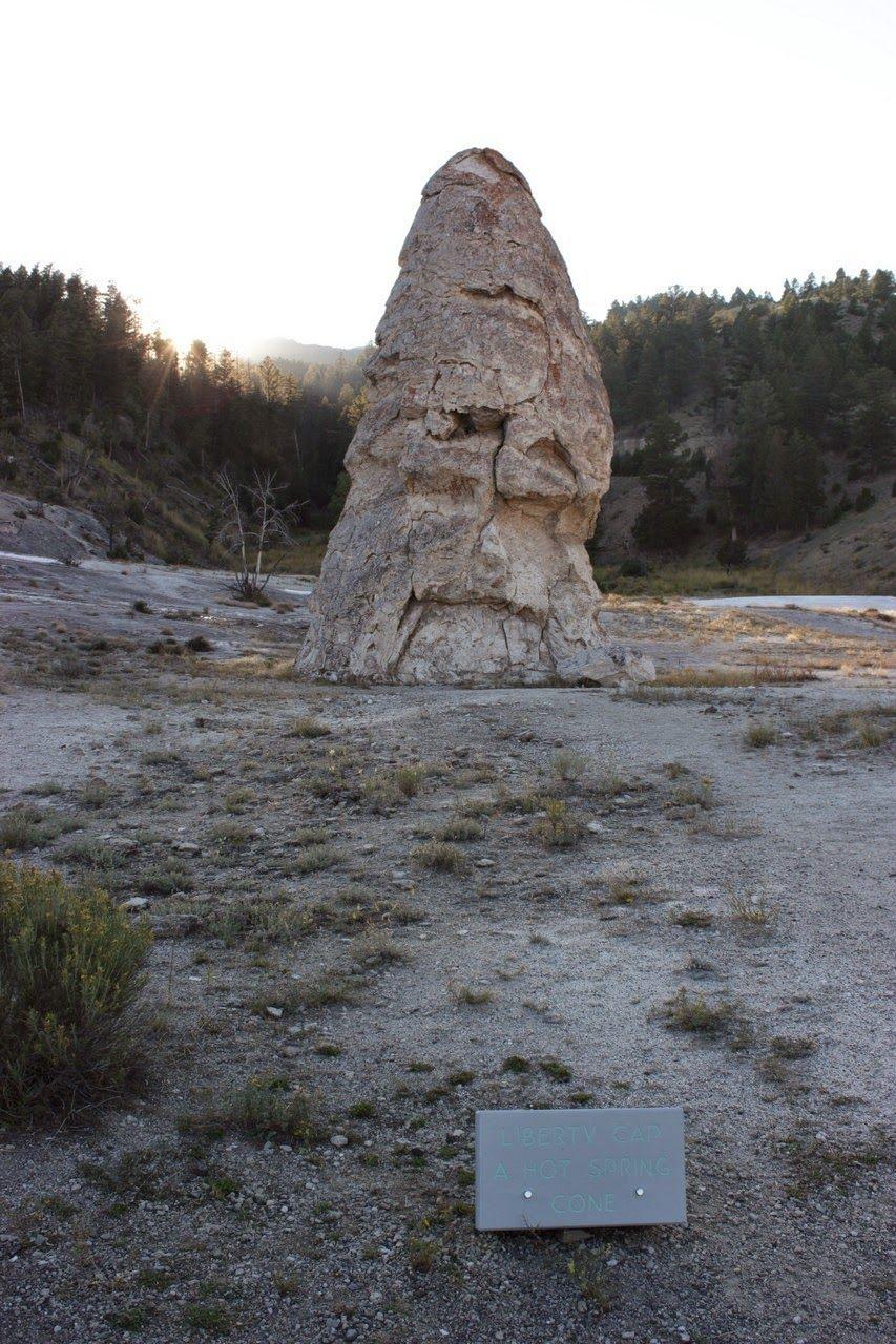 El Liberty Cap, que en su día expulsaba agua varios metros al cielo