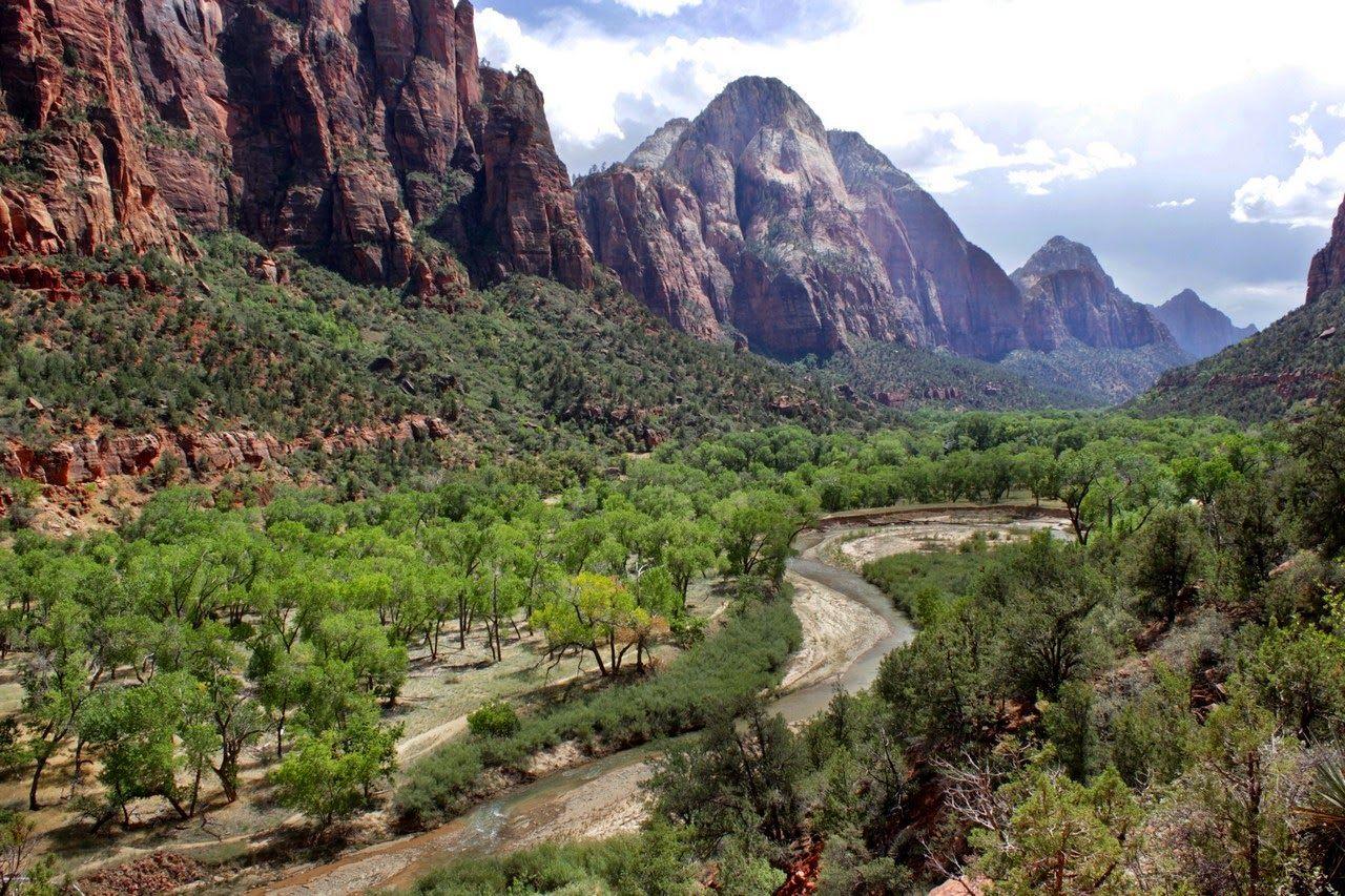 El Virgin River, alcanzando The Grotto