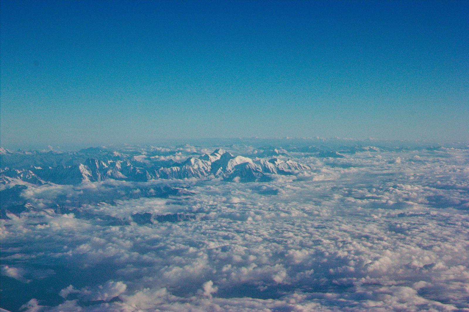 Los Alpes desde las alturas