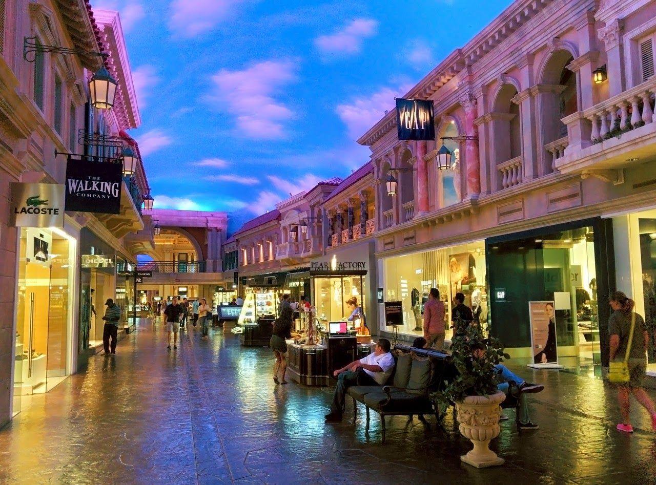 Las galerías de The Forum Shoppes