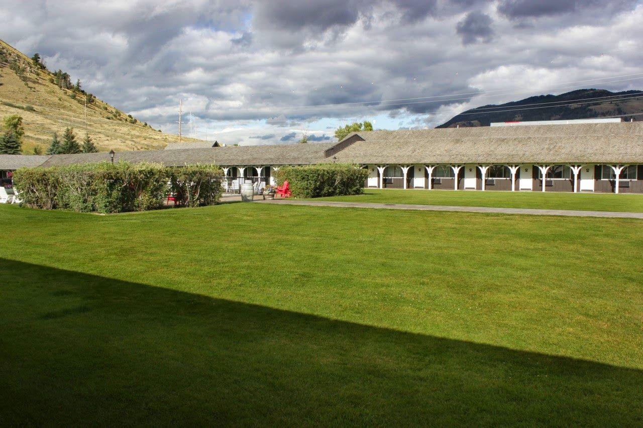 Los jardines interiores del Virginian Lodge