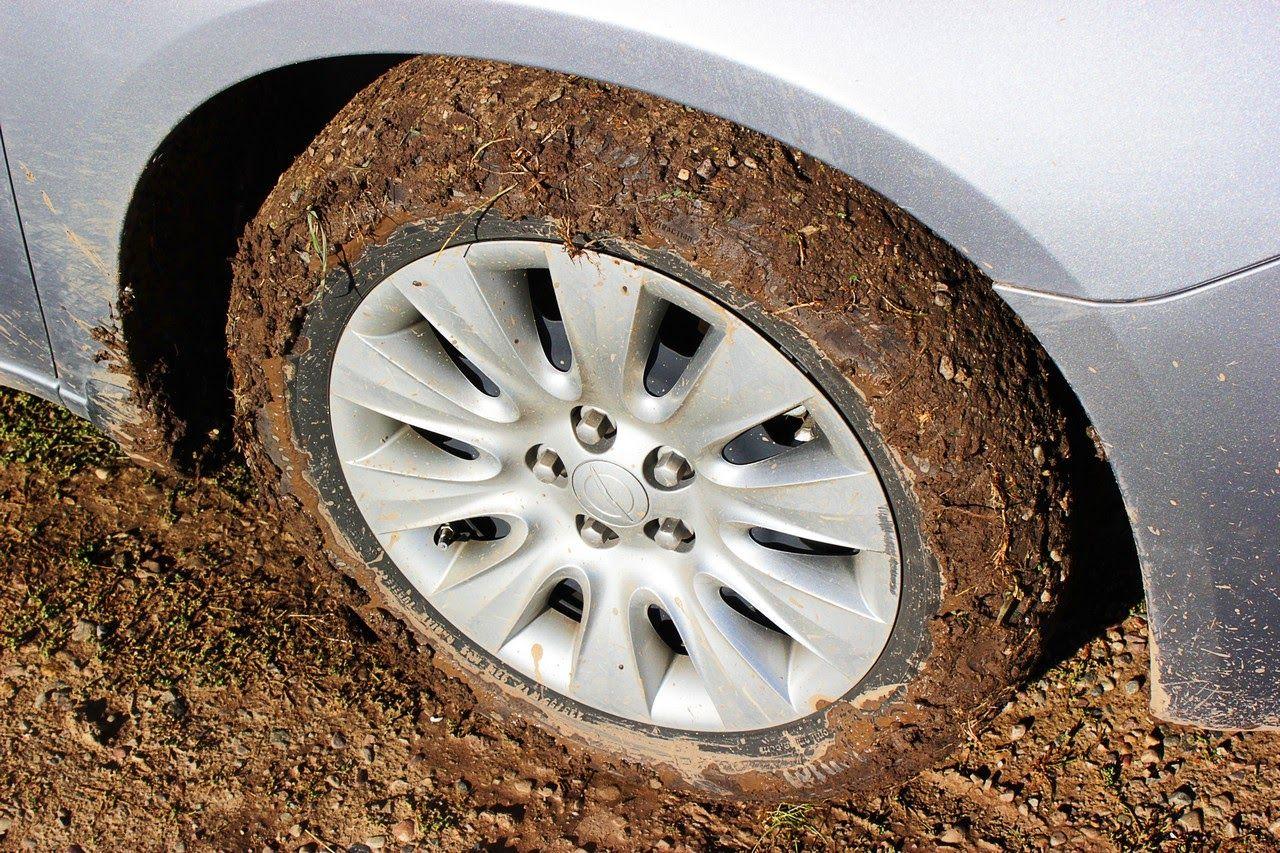 Así acaba el Chrysler 200 tras la Mormon Row embarrada