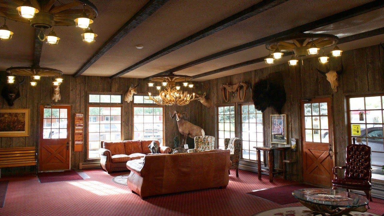 La recepción del Virginian Lodge