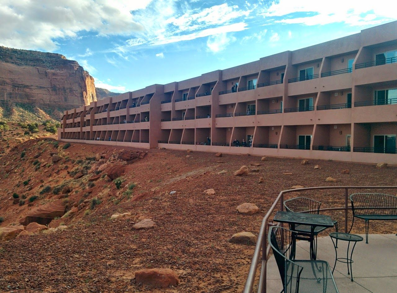 Las habitaciones de The View, desde la terraza principal