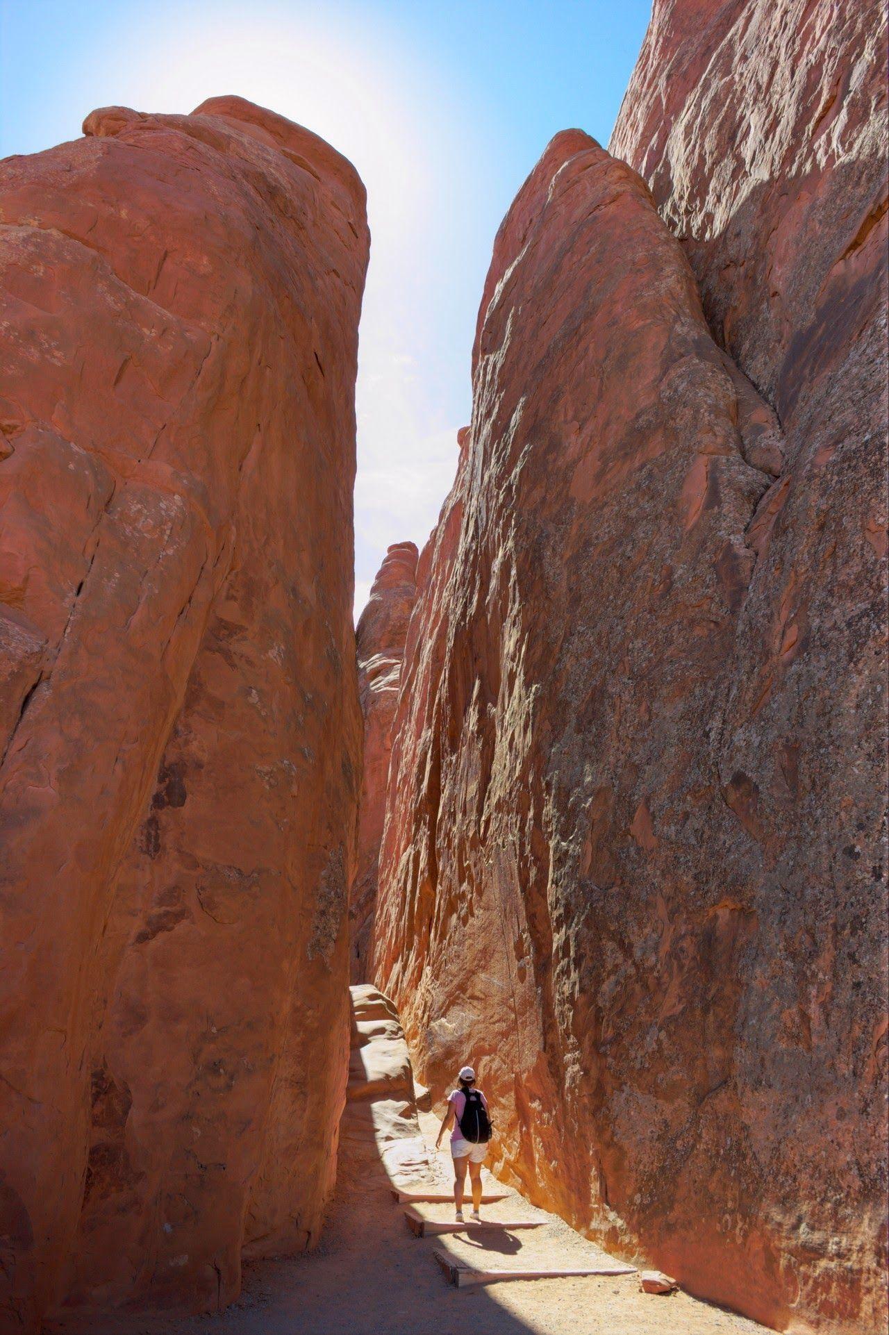 En busca de Sand Dune Arch