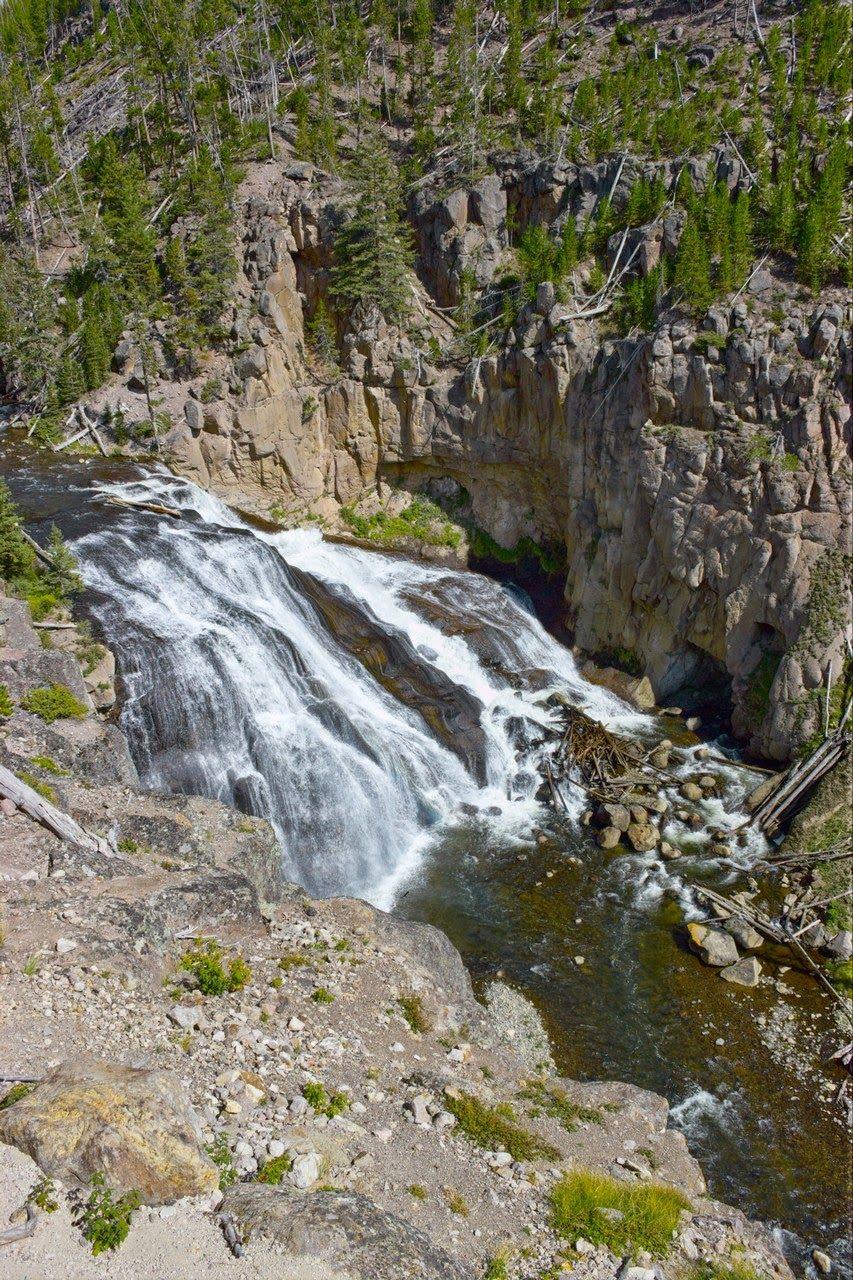 Las Gibbon Falls... no, no son las mismas de antes