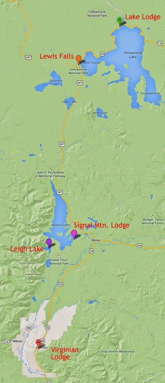 Mapa de la etapa 5