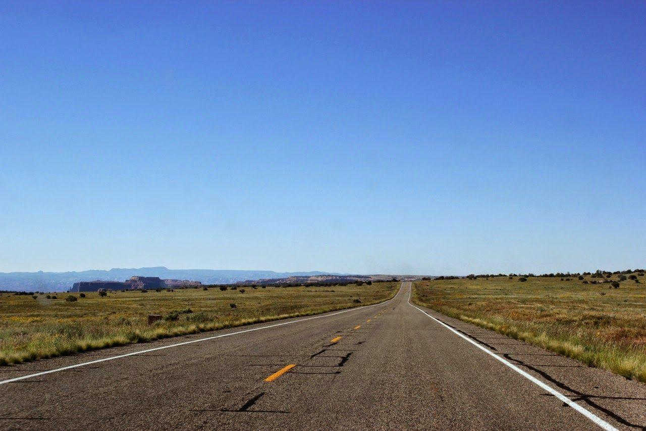 Ganando altura por una cómoda carretera