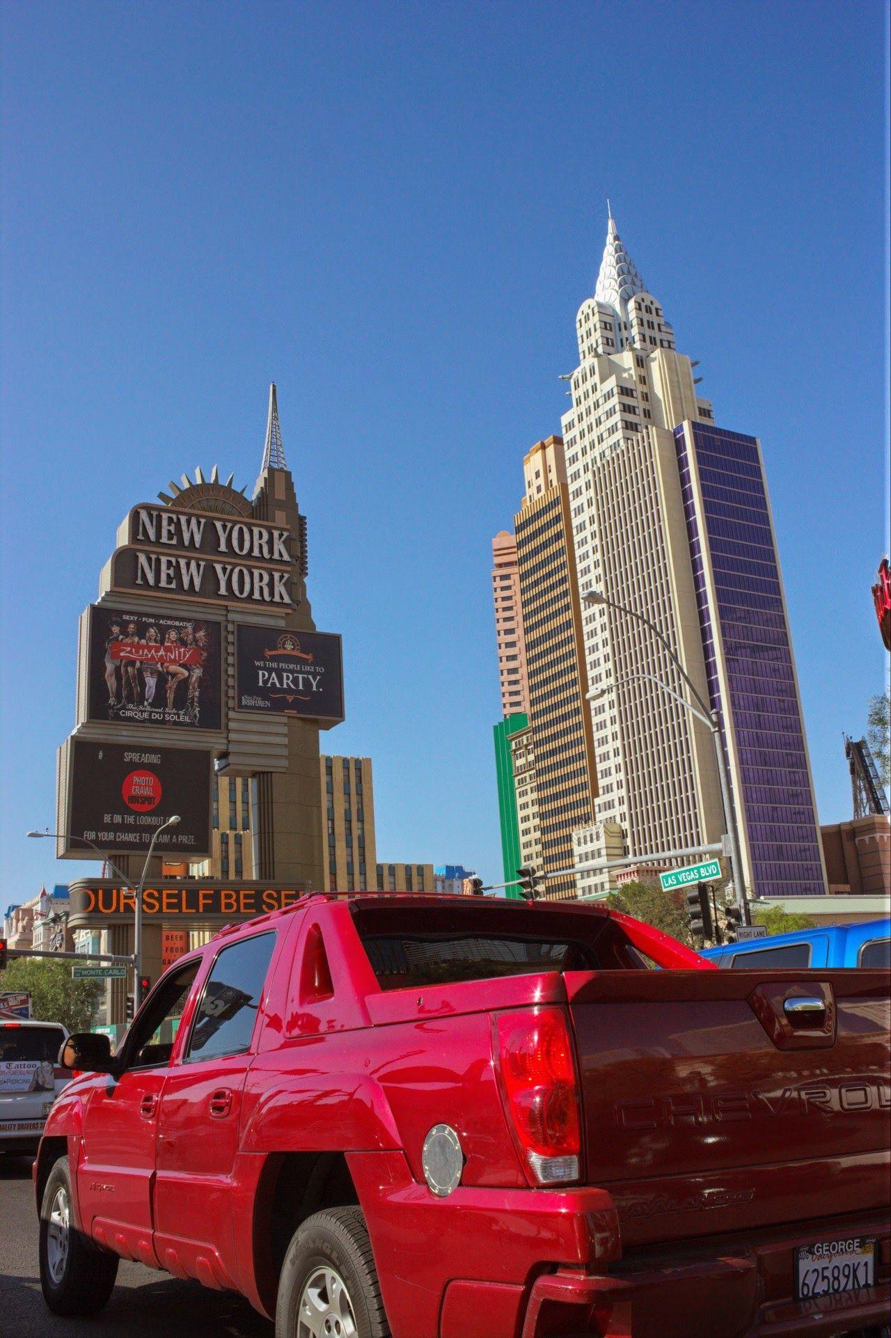 Cruzando Nueva York al volante
