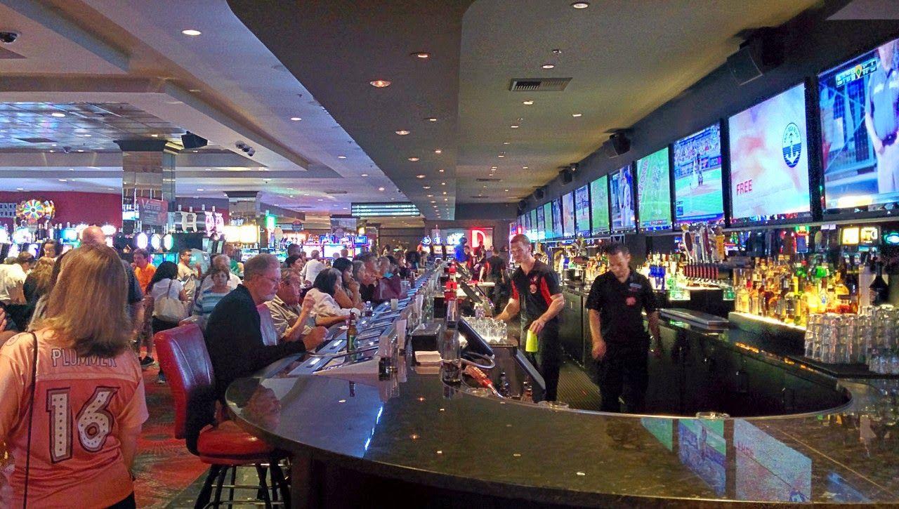 El interior de The D, el nuevo casino en Fremont