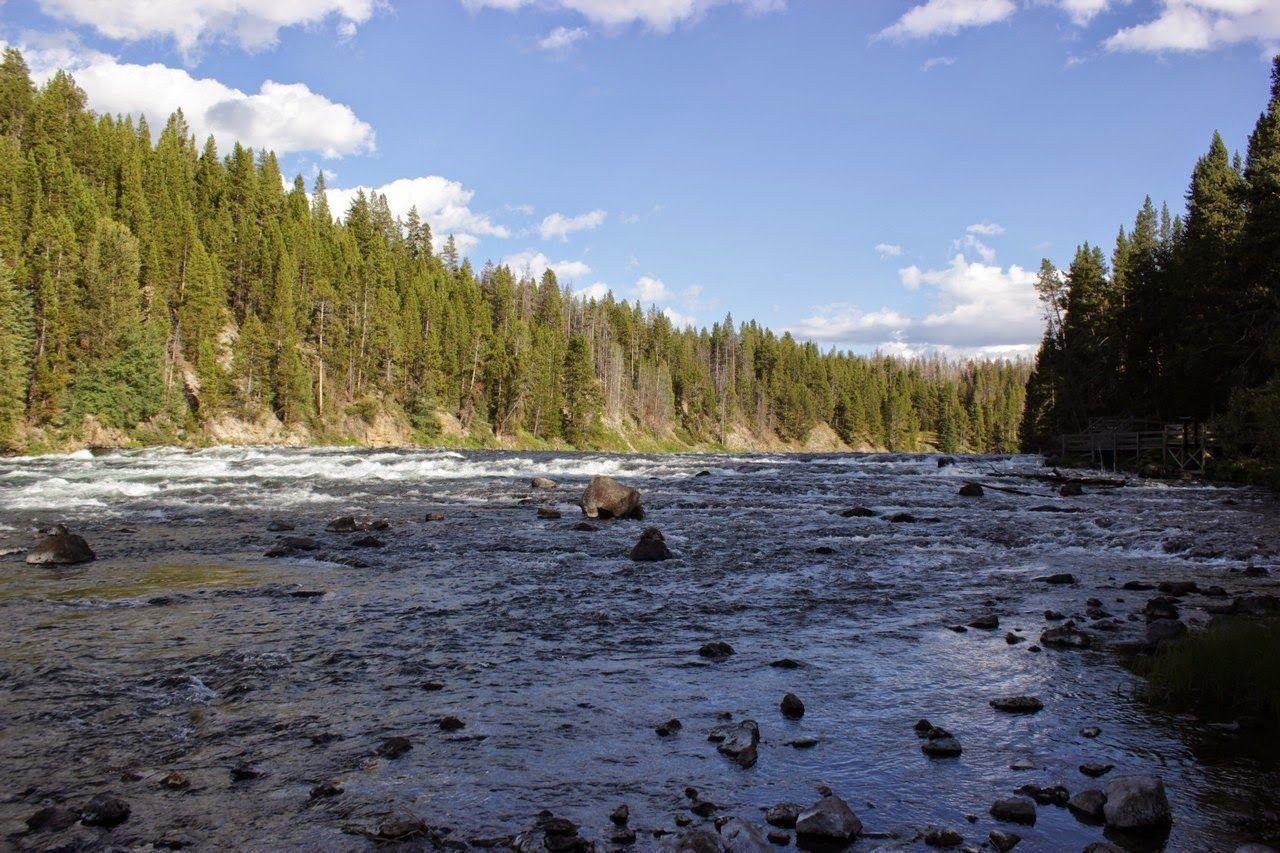 LeHardys Rapids, ahora escondido en la sombra