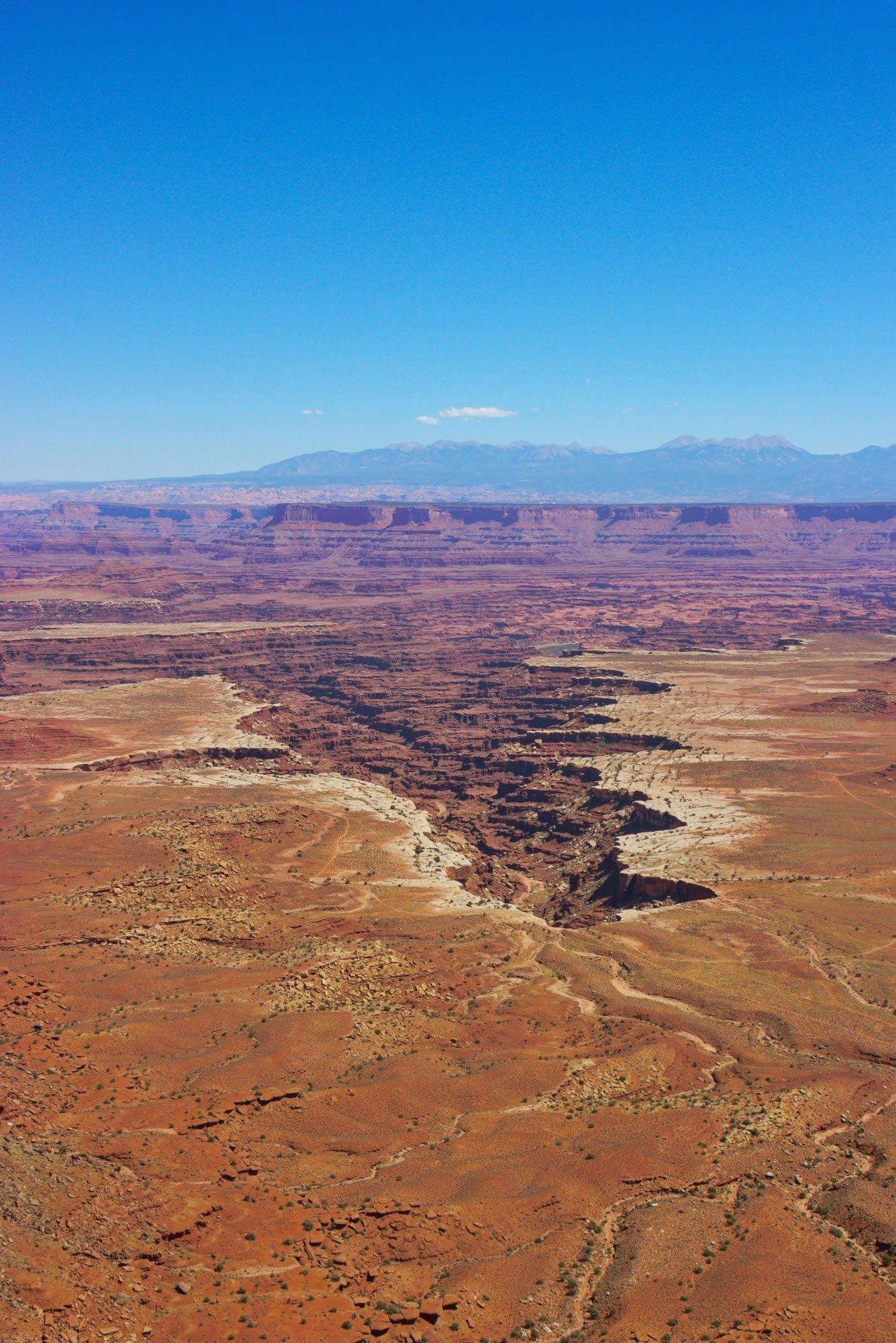Buck Canyon, curioso por su forma alargada