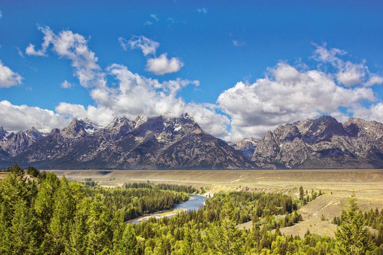 El río, las montañas, y ese Grand Teton que se niega a salir