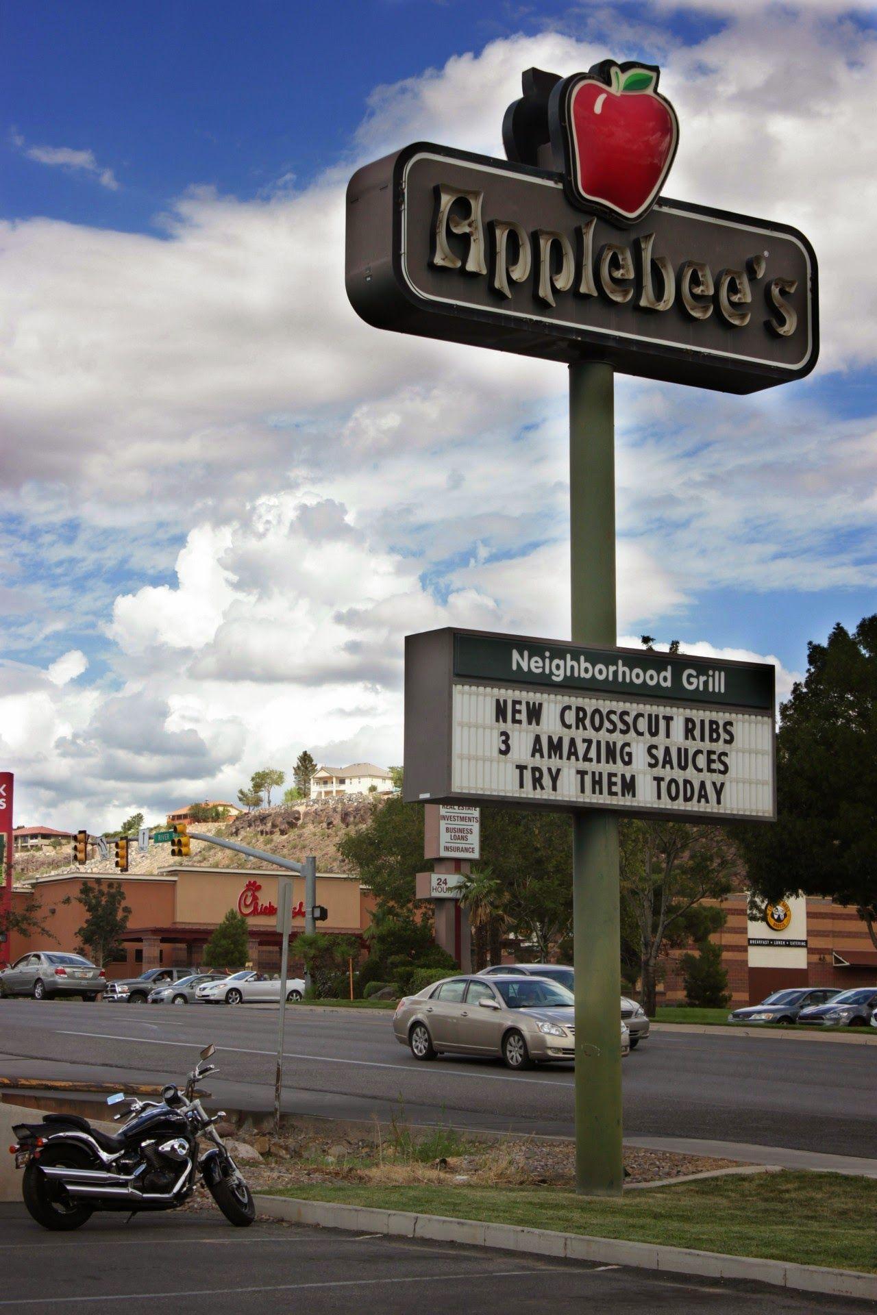 Te quiero, Applebee's