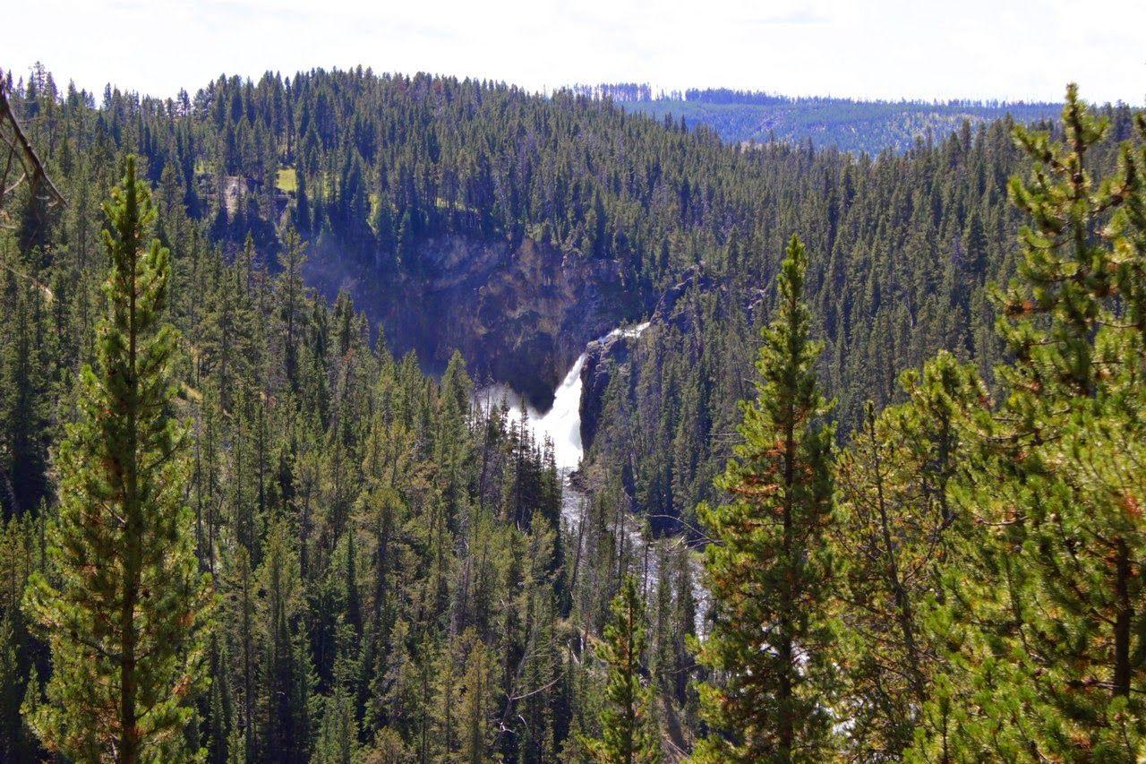 Las Upper Falls, reclamando un poco de atención