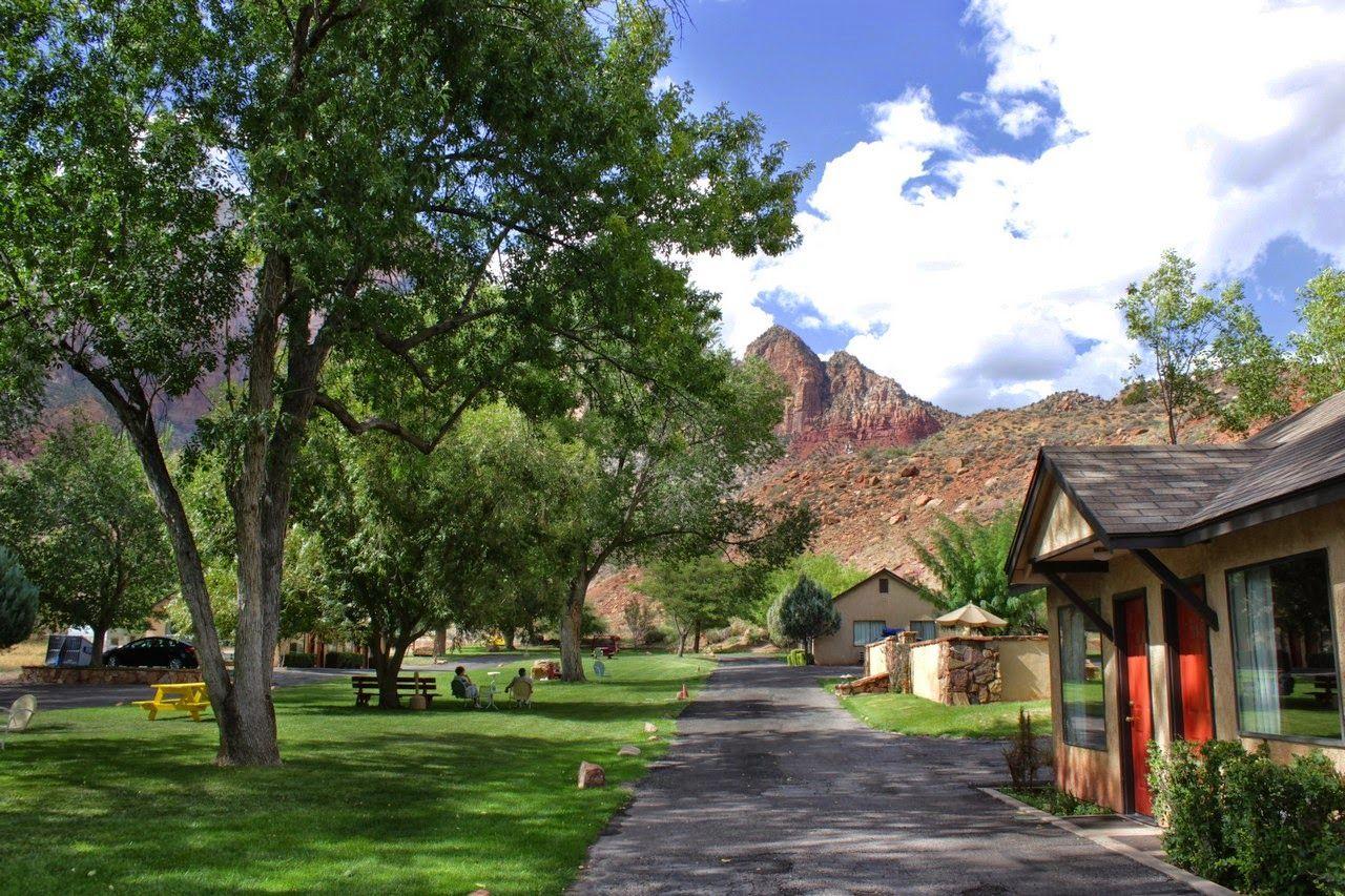 Tranquilidad en el Canyon Ranch Motel
