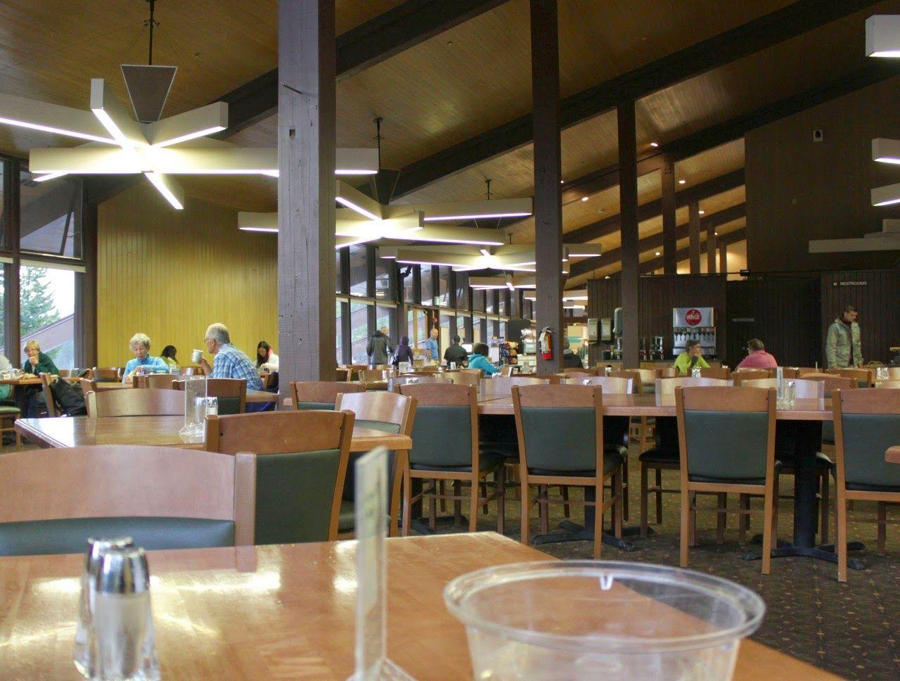 La cafetería del Canyon Village, apuesta segura