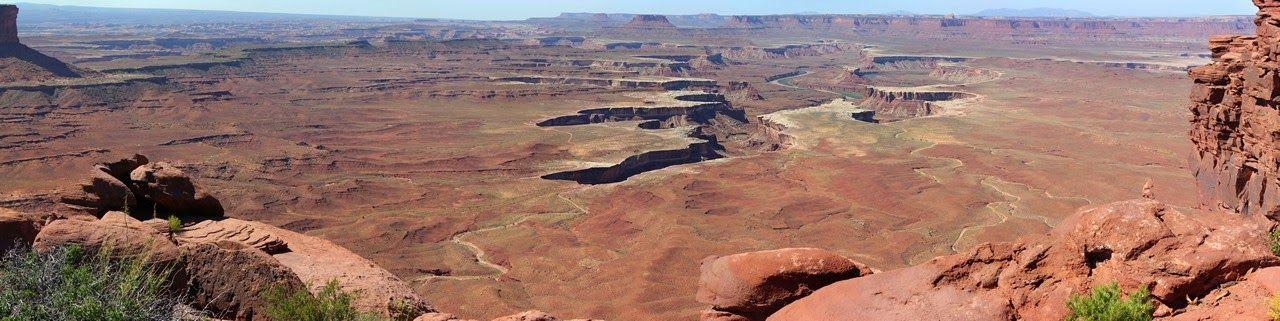 Green River Overlook, lo mejor de Canyonlands