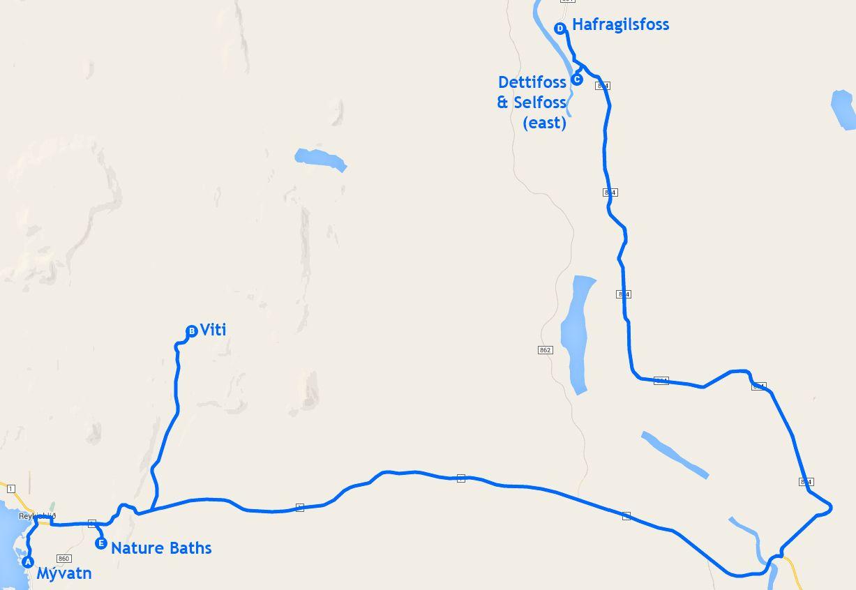 Mapa de la etapa 8