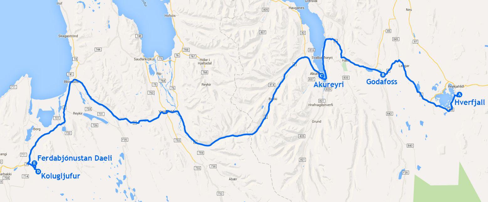 Mapa de la etapa 10
