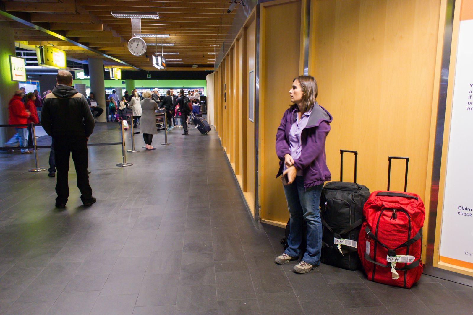Nuestros primeros minutos en Islandia