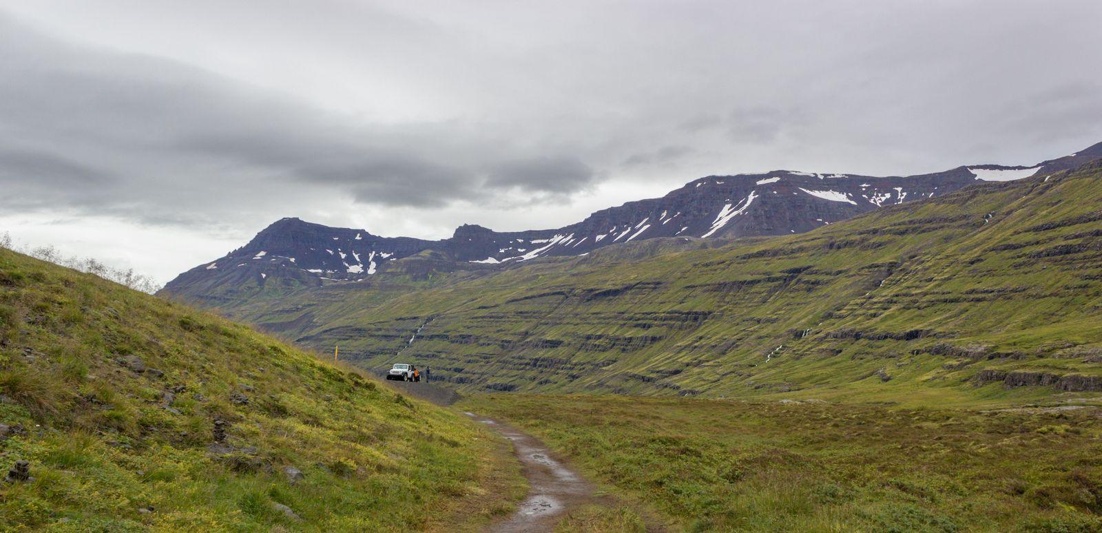 La escasa distancia entre Gufufoss y el apartadero