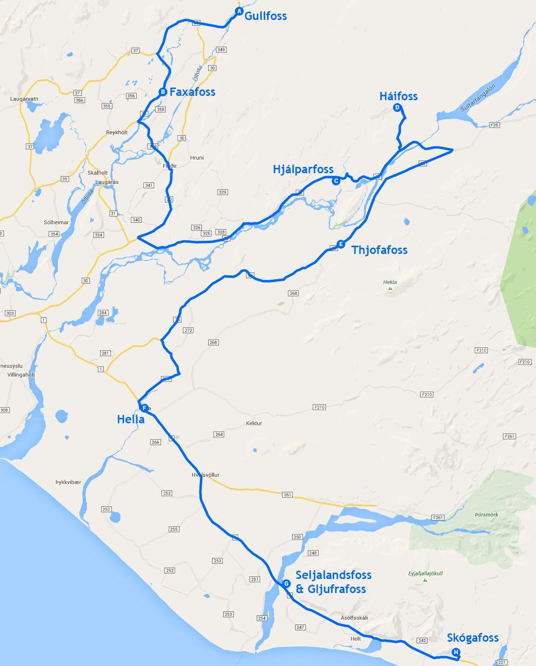 Mapa de la etapa 2