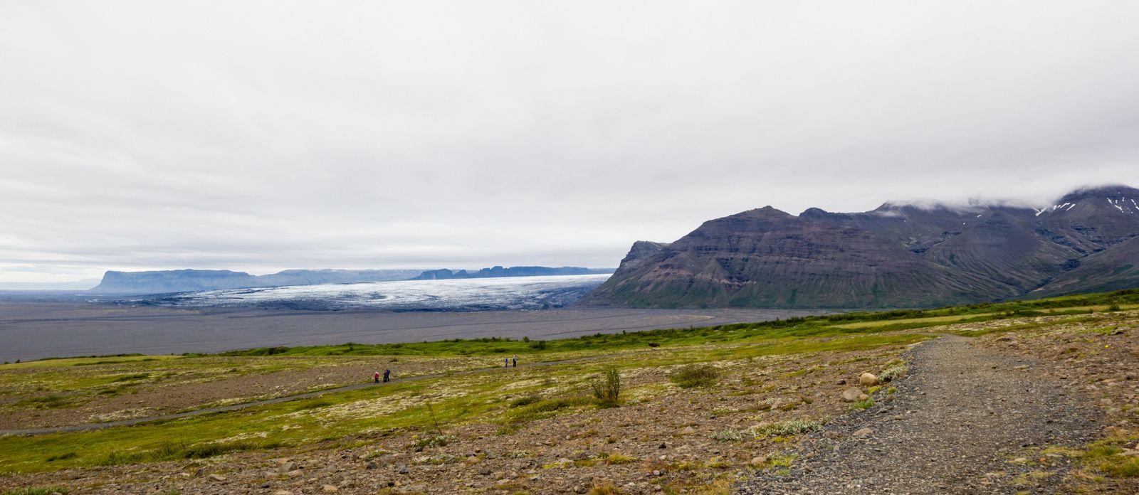 Morsarsjökull desde Sjónarsker