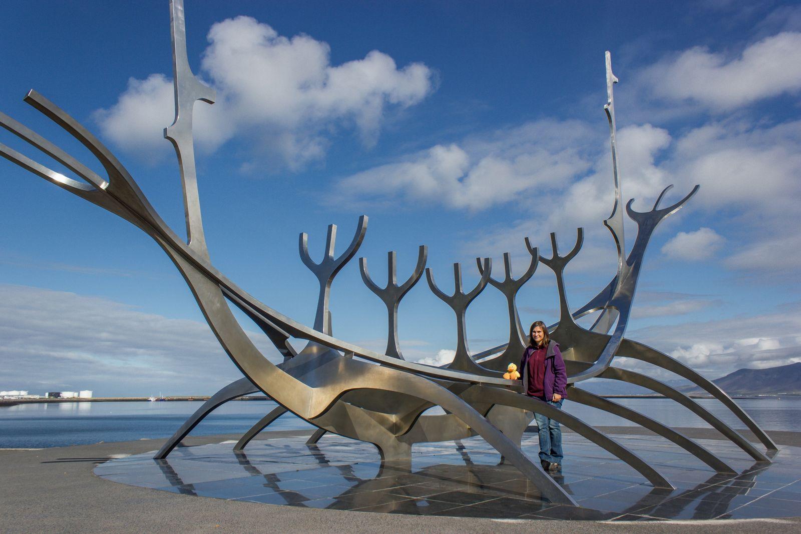 Uno de los símbolos de Reykjavik