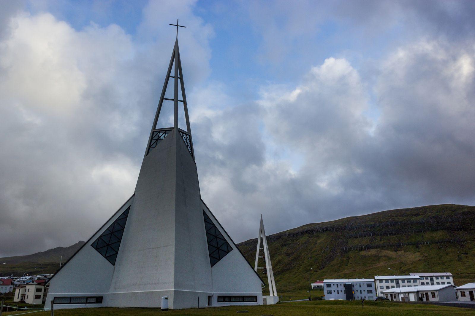 La iglesia de Ólafsvík