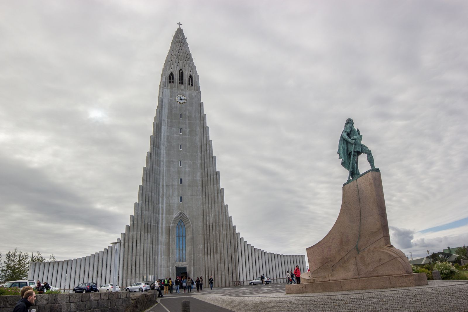 Primerísima parada: la iglesia de Hallgrímskirkja