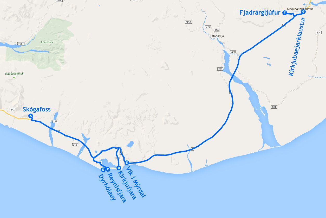 Mapa de la etapa 4