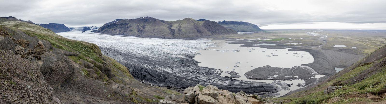 Skaftafellsjökull desde Sjónarnipa