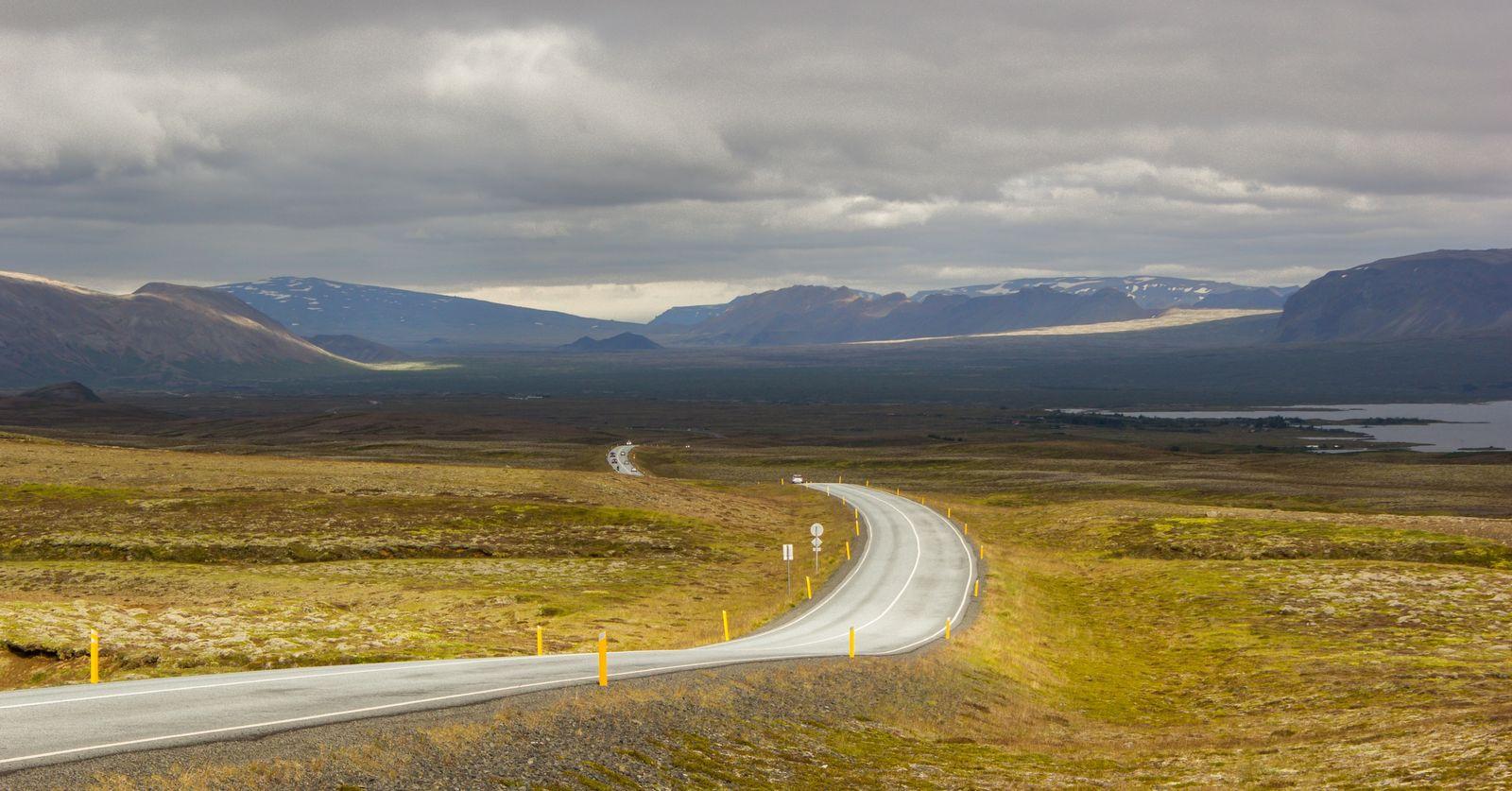 Apenas unos minutos tras Reykjavik, comienza el espectáculo
