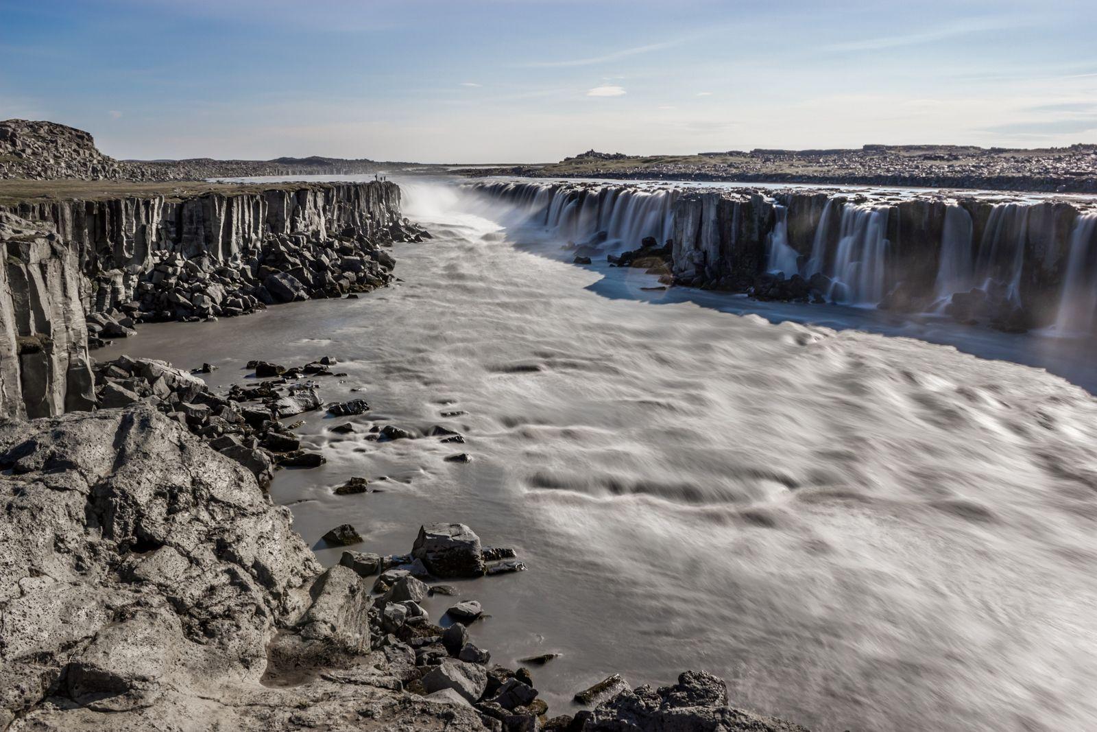 Agua y basalto
