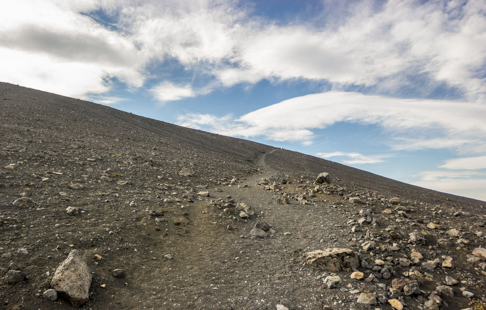 El ascenso asequible a Hverfjall