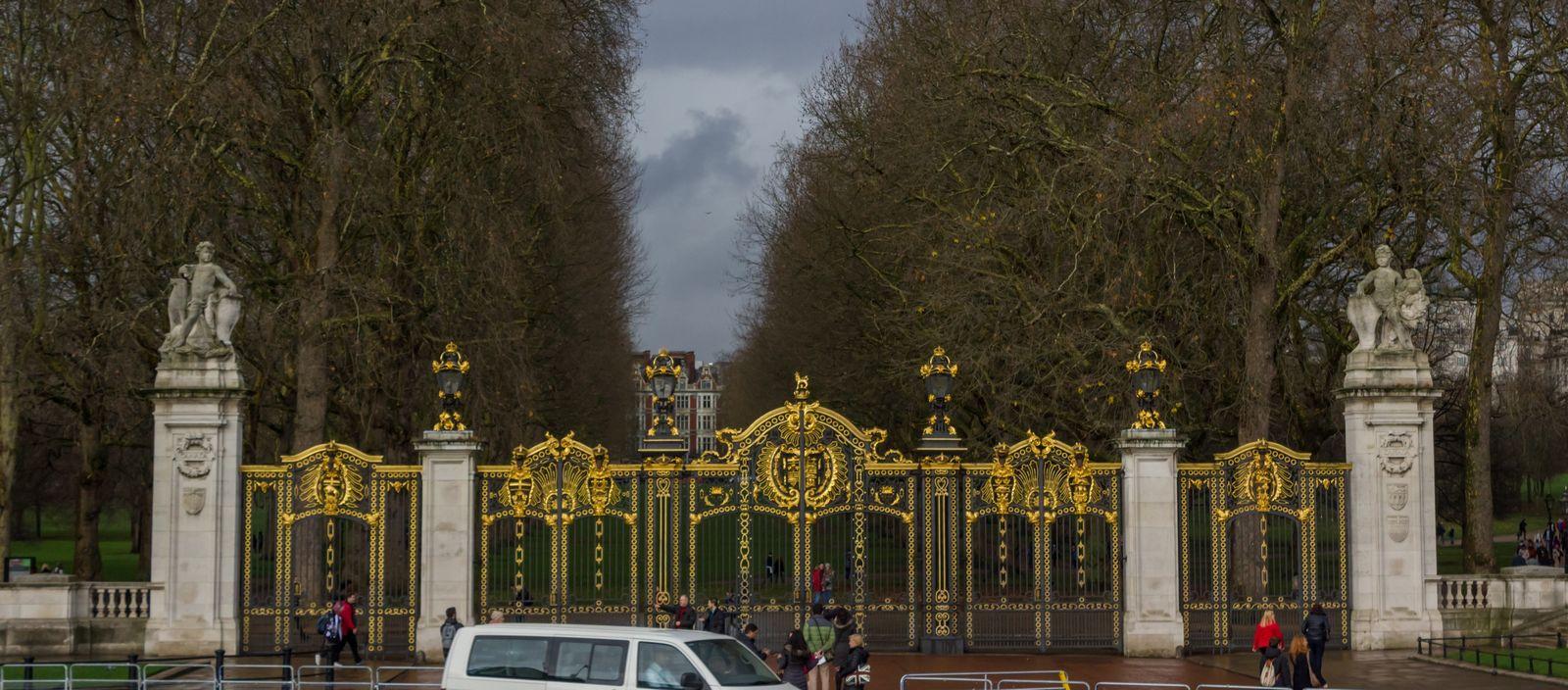 El acceso a los jardines de Green Park