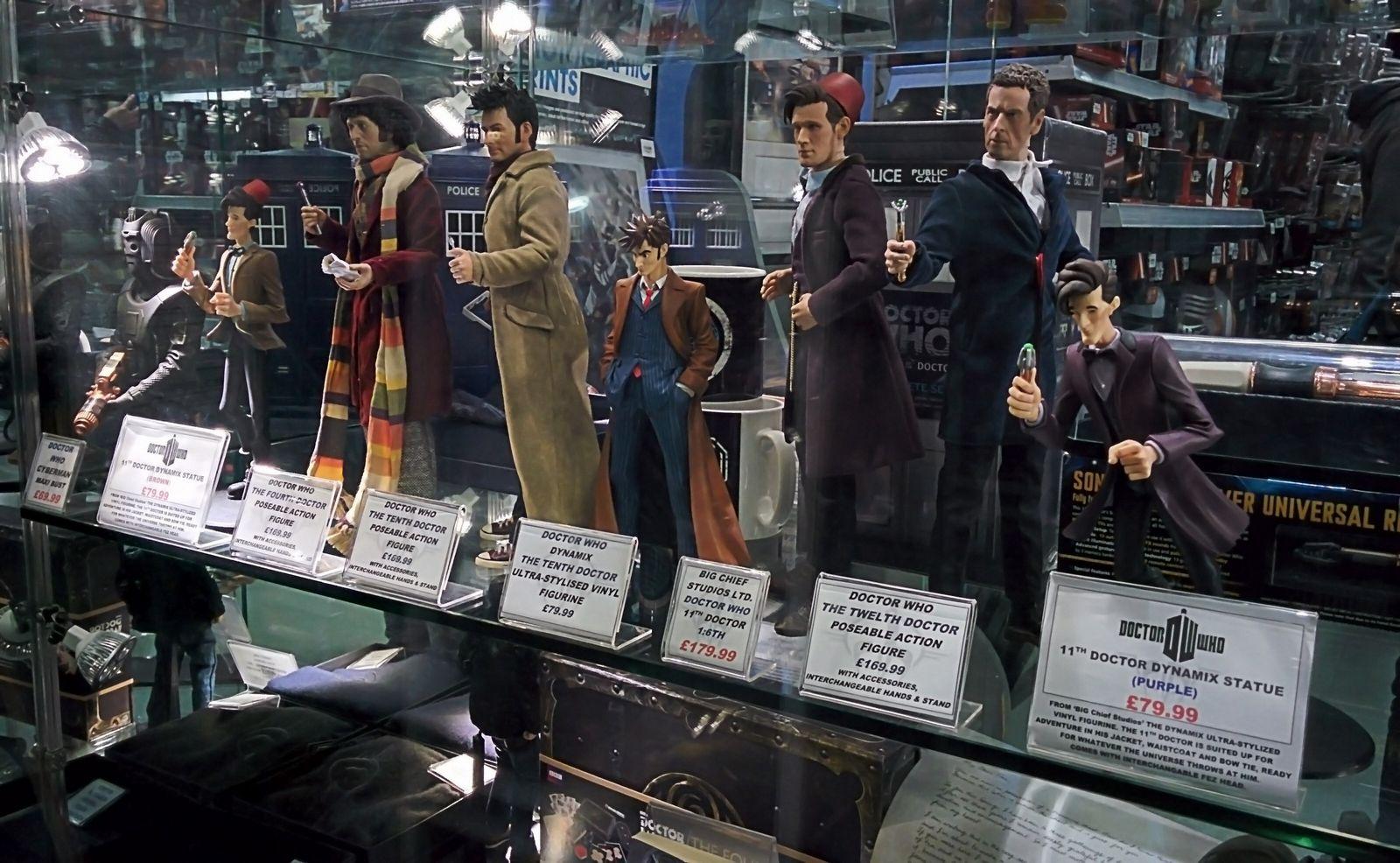 Doctor Who para bolsillos generosos
