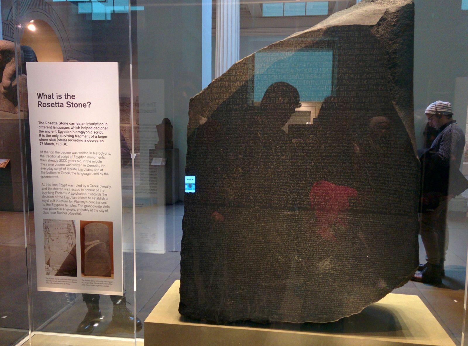 Y aquí tenemos la Rosetta Stone