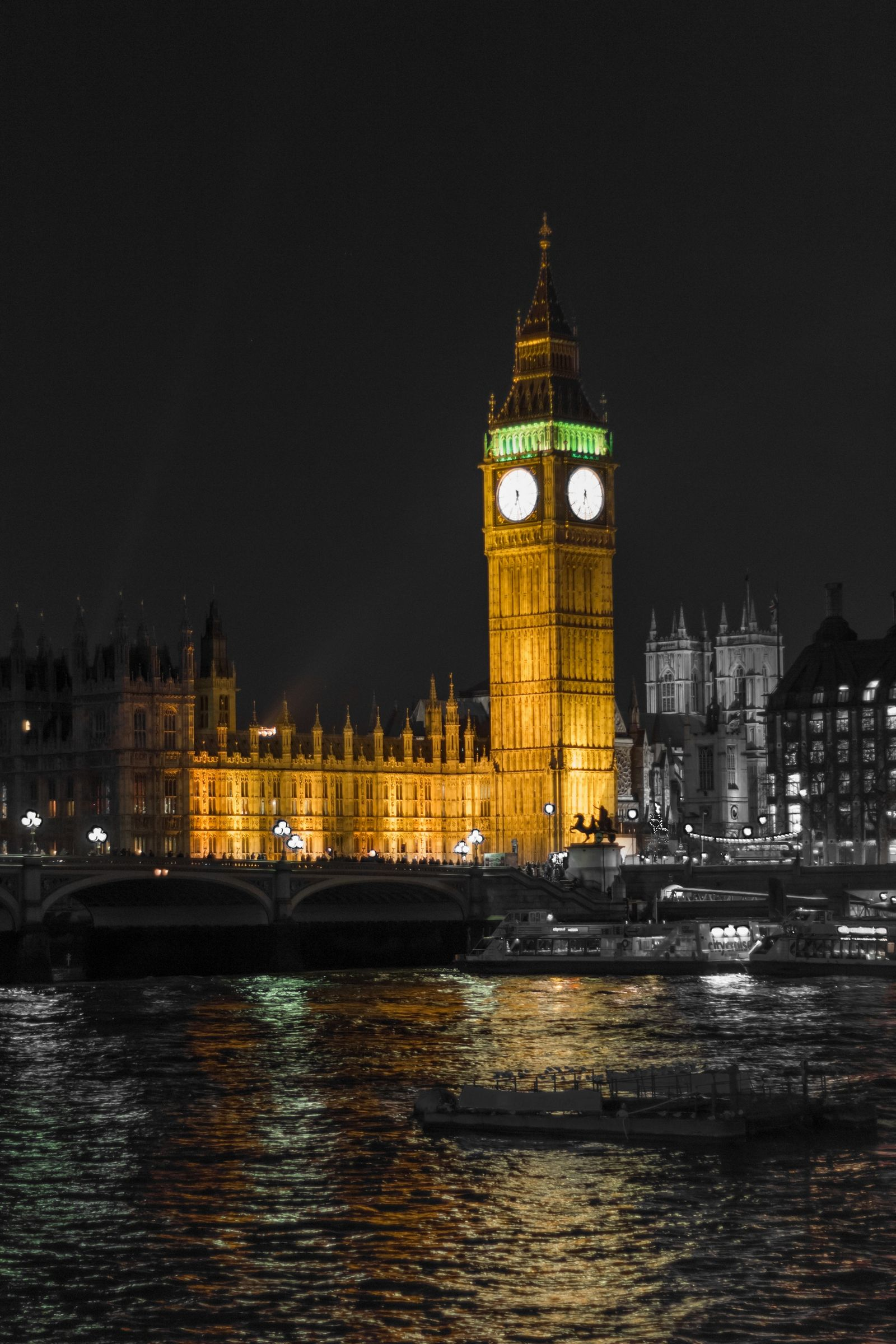 Las luces del Big Ben