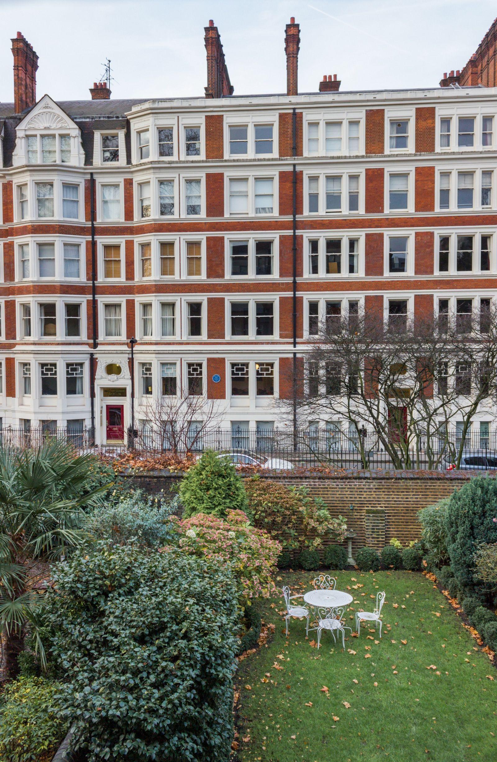 Buenos días, Londres (vistas desde la habitación)