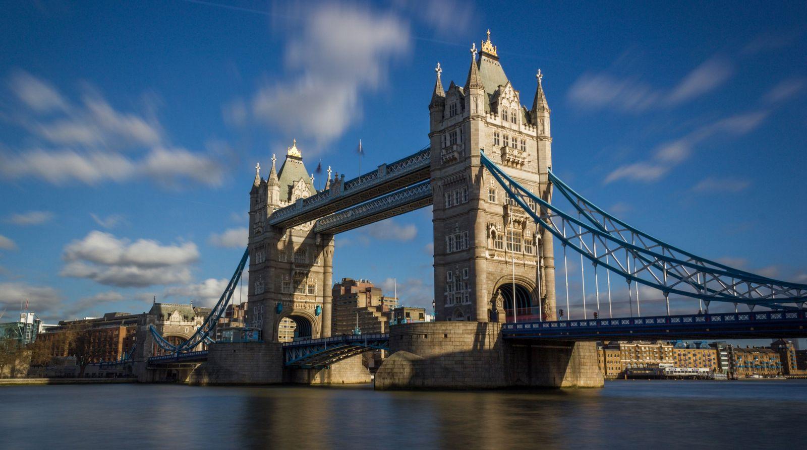 El Tower Bridge, insuperable desde lejos
