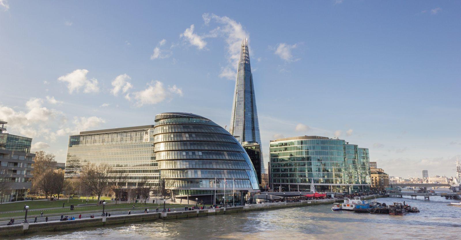 El moderno Ayuntamiento de Londres