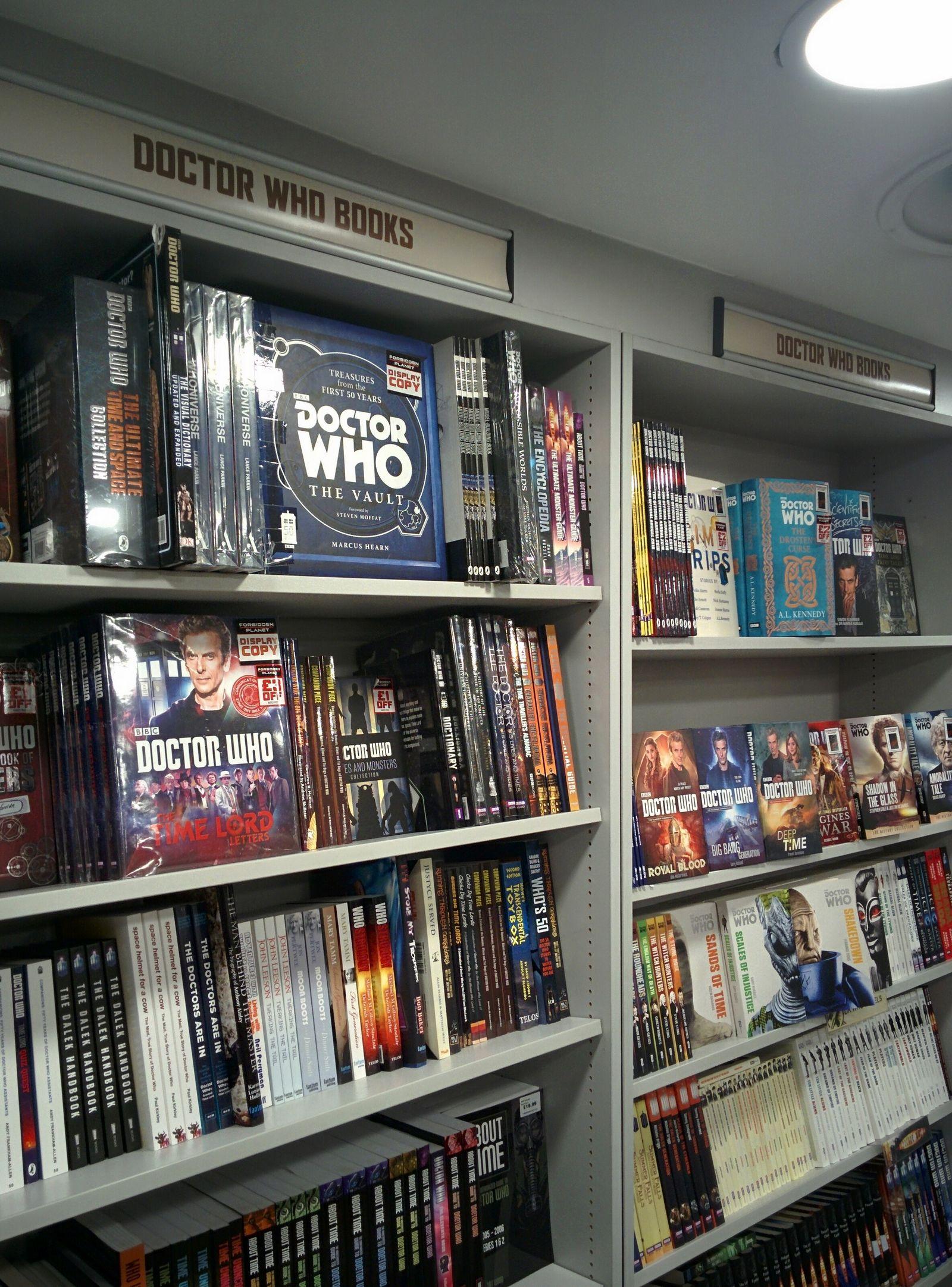 Doctor Who, también en literatura