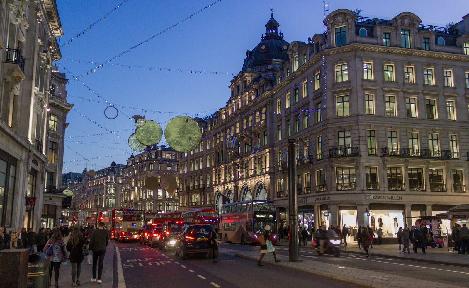 Navidad en Regent Street