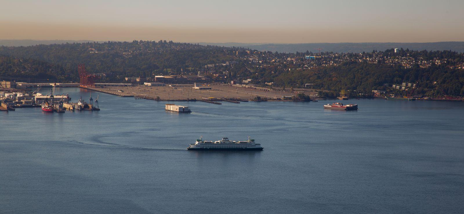 Vistas al puerto...